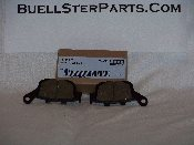 XB Brake Pad Kit, 2003-2007, Rear