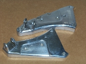 Footpeg Bracket, Rider, Chrome [XB9R]