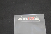 M0675.1AC - XB12 Lightning 2004 Decal, Upper Triple