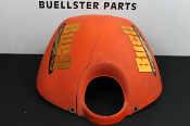 Intake / Air Box cover, cracked - Orange