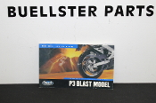 Buell P3 Blast Owner's Manual - 2002 , USED